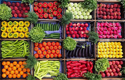 Упаковка овощей и фруктов для транспортировки